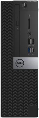 Системный блок DELL Optiplex 7050 i5-6500 3.2GHz 8Gb 256Gb SSD HD530 DVD-RW Win10Pro клавиатура мышь черный/серебристый 7050-2585 компьютер dell optiplex 5050 intel core i5 7500 ddr4 8гб 256гб ssd intel hd graphics 630 dvd rw windows 10 professional черный и серебристый [5050 8305]