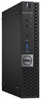 Системный блок DELL Optiplex 7050 Micro i5-6500T 2.5GHz 8Gb 1Tb HD530 DVD-RW Win10Pro клавиатура мышь черный 7050-2592 компьютер dell optiplex 3050 intel core i5 6500 ddr4 4гб 500гб intel hd graphics 530 dvd rw windows 7 professional черный [3050 0368]