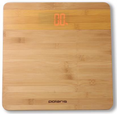 Весы напольные Polaris PWS 1847D бамбук весы напольные polaris pws 1857dgf