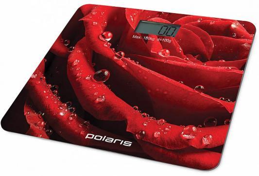 Весы напольные Polaris PWS 1869DG красный