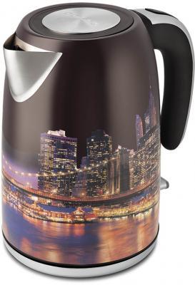 Чайник Polaris PWK 1853CA 2000 Вт рисунок 1.8 л нержавеющая сталь кофеварка polaris pcm 0210 450 вт черный