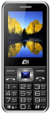 """Телефон ARK Benefit U244 черный 2.4"""" 32 Мб"""