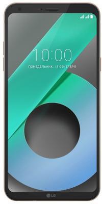 Смартфон LG Q6 золотистый 5.5 32 Гб NFC LTE Wi-Fi GPS 3G LGM700AN.ACISKG смартфон alcatel onetouch 7070 pop 4 6 золотистый 6 16 гб wi fi gps 3g lte