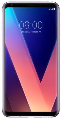 Смартфон LG V30+ фиолетовый 6 128 Гб NFC LTE Wi-Fi GPS 3G LGH930DS.ACISVI смартфон zte blade a510 серый 5 8 гб lte wi fi gps 3g