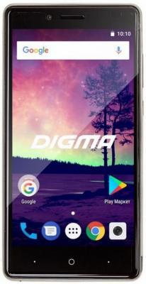 """Смартфон Digma VOX S509 3G серебристый 5"""" 16 Гб Wi-Fi GPS 3G VS5032PG"""