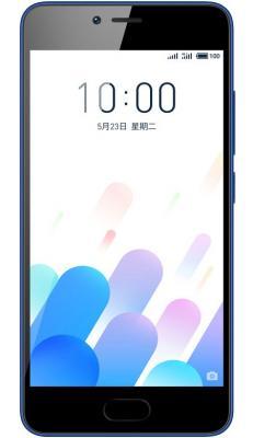 Смартфон Meizu M5c синий 5 32 Гб LTE Wi-Fi GPS 3G M710H_32GB_BLUE смартфон meizu mx6 золотистый 5 5 32 гб lte wi fi gps 3g m685h 32 gw