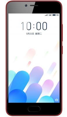 Смартфон Meizu M5c красный 5 32 Гб LTE Wi-Fi GPS 3G смартфон meizu m5s золотистый 5 2 16 гб lte wi fi gps 3g