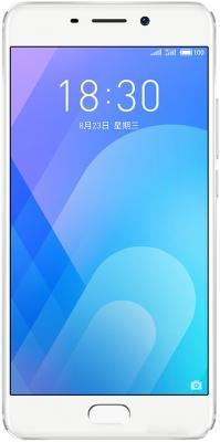 Смартфон Meizu M6 Note 32 Гб серебристый M721H_32GB_SILVER смартфон meizu m5s 32 гб серебристый белый