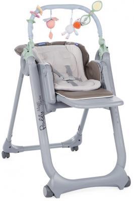 Стульчик для кормления Chicco Polly Magic Relax (dove grey) высокий стул для кормления chicco polly happy land