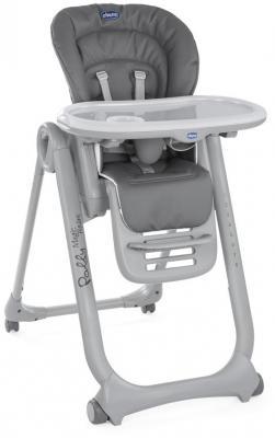 Стульчик для кормления Chicco Polly Magic Relax (anthracite) стульчик для кормления hauck sit in relax birdie