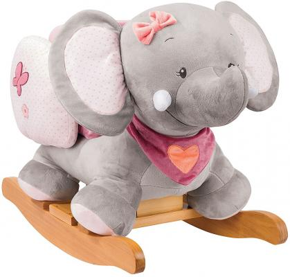 Качалка Nattou Adele Valentine Слоник (424271) игрушка мягкая nattou charlotte rose жираф и слоник 655187