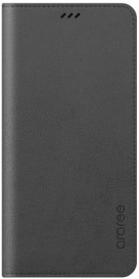 Чехол (флип-кейс) Samsung для Samsung Galaxy A8+ Designed Mustang Diary серый (GP-A730KDCFAIB) цена и фото