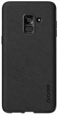 Чехол (клип-кейс) Samsung для Samsung Galaxy A8+ araree Airfit Prime черный (GP-A730KDCPBIA) клип кейс ibox blaze для samsung galaxy a3 2016 черный