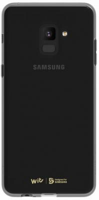 Чехол (клип-кейс) Samsung для Samsung Galaxy A8 WITS SOFT COVER черный (GP-A530WSCPAAC) клип кейс ibox fresh для samsung galaxy s5 mini черный
