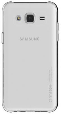 Чехол (клип-кейс) Samsung для Samsung Galaxy J2 (2018) araree прозрачный (GP-J250KDCPAIA) чехол клип кейс samsung для samsung galaxy s9 araree nu kin прозрачный gp g965kdcpcia