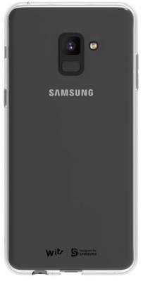 Чехол (клип-кейс) Samsung для Samsung Galaxy A8+ WITS SOFT COVER прозрачный (GP-A730WSCPAAA)