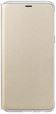 Чехол (флип-кейс) Samsung для Samsung Galaxy A8 Neon Flip Cover золотистый (EF-FA530PFEGRU) флип кейс gecko flip для lenovo vibe c2 белый