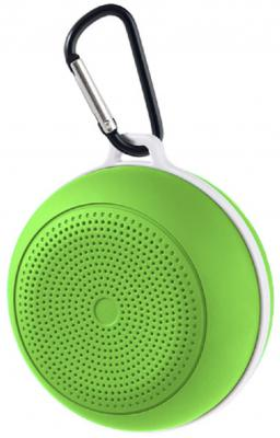 Портативная акустика Perfeo Spot 3Вт Bluetooth зеленый PF_5216
