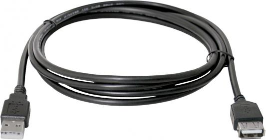 Кабель удлинительный USB 2.0 AM-AF 5м Defender USB02-17 87454 кабель удлинительный usb 2 0 am af 1 8м defender usb02 06 polybag