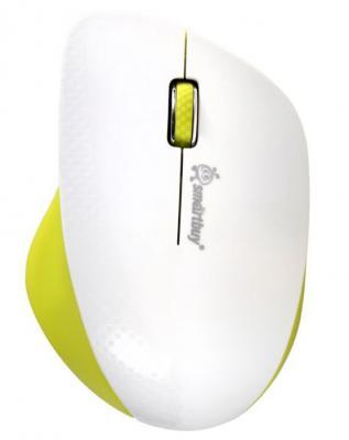 Мышь беспроводная Smart Buy SBM-309AG-WL белый USB