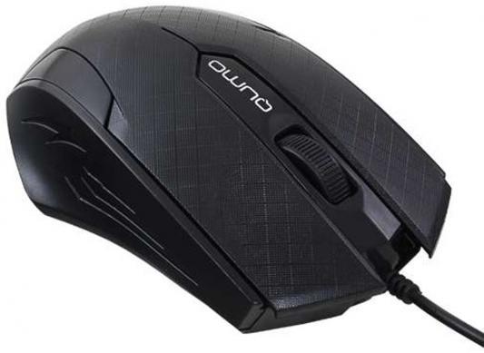 Мышь проводная QUMO Office M14 чёрный USB