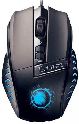 Мышь проводная QUMO Eclipse M23 чёрный USB клавиатура qumo dragon war axe проводная для pc