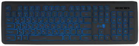 Клавиатура проводная Jet.A SlimLine K20 USB черный surface mount fuses 32v 4a vfa slimline 100 pieces