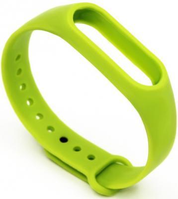 Силиконовый ремешок для Mi Band 2 зеленый XMWD01HM