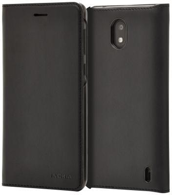 Чехол Nokia Slim Flip Cover для Nokia 2 черный nokia 6500 clasic купить в ростове