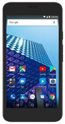 Смартфон ARCHOS Access 50 4G черный 5 8 Гб LTE Wi-Fi GPS 3G 503495 смартфон micromax a107 cosmic grey 4 5 8 гб wi fi gps 3g 4 5 2sim 8гб gps wi fi 3g android 5 0 2000 ма ч