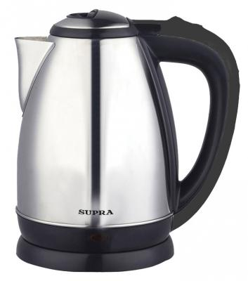 Чайник Supra KES-1830 2200 Вт серебристый 1.8 л нержавеющая сталь цена и фото