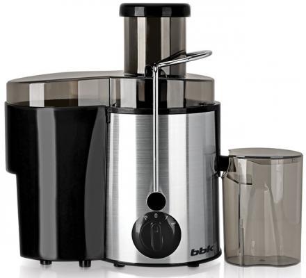 цена на Соковыжималка BBK JC080-H06 800 Вт пластик/нержавеющая сталь серебристый чёрный