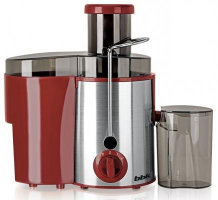 Соковыжималка BBK JC080-H06 800 Вт пластик/нержавеющая сталь серебристый красный