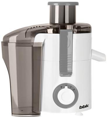 Соковыжималка BBK JC060-H11 550 Вт пластик серый белый соковыжималка bbk jc060 h02 black metallic