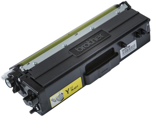 Картридж Brother TN421Y для Brother HL-L8260/8360/DCP-L4810/MFC-L8690/8900 желтый 1800стр refillable color ink jet cartridge for brother printers dcp j125 mfc j265w 100ml