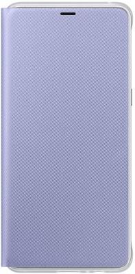 Чехол Samsung для Samsung Galaxy A8+ Neon Flip Cover фиолетовый EF-FA730PVEGRU