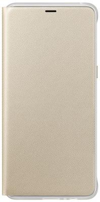 Чехол Samsung для Samsung Galaxy A8+ Neon Flip Cover золотистый EF-FA730PFEGRU чехол книжка samsung neon flip cover для galaxy a8 2018 черный