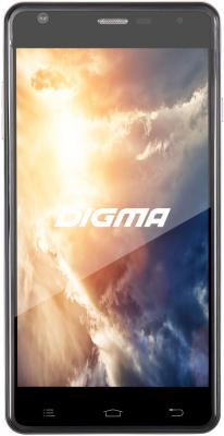 Смартфон Digma Vox S501 3G графитовый 5 8 Гб Wi-Fi GPS 3G VS5002PG zgpax s8 android 4 4 dual core wcdma watch phone w 1 54 4gb rom 8g tf gps wifi golden