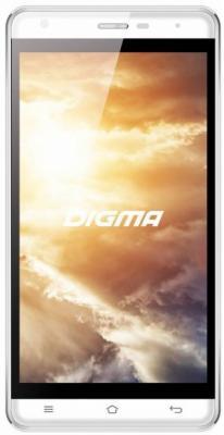 Смартфон Digma Vox S501 3G белый 5 8 Гб Wi-Fi GPS 3G VS5002PG смартфоны digma смартфон s505 3g vox белый