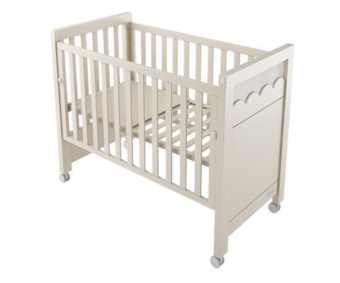 Купить Кровать Micuna Amelia Aran Big Luxe Relax (sand), песочный, массив бука / МДФ, Кроватки без укачивания