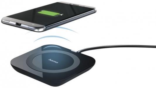 все цены на Беспроводное зарядное устройство HAMA Basic Pro 1A черный 178220 онлайн