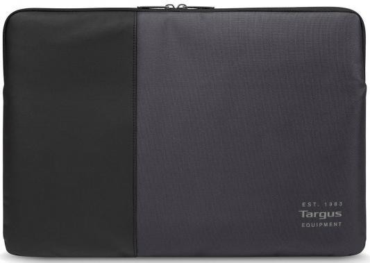 Чехол для ноутбука 15.6 Targus TSS95104EU нейлон черный серый сумка для ноутбука targus classic clamshell cn418eu 70 black полистер до 18