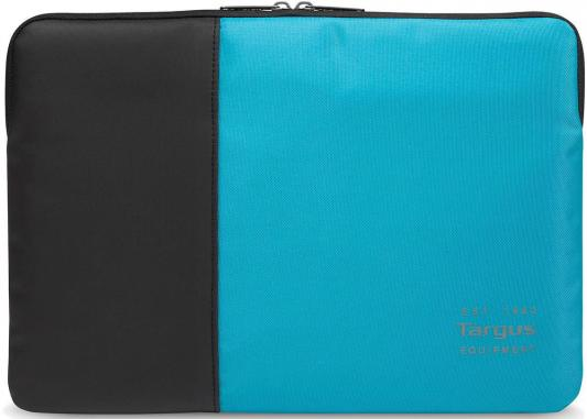 Чехол для ноутбука 15.6 Targus TSS95102EU нейлон черный синий сумка для ноутбука targus classic clamshell cn418eu 70 black полистер до 18