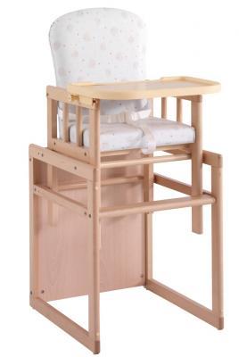 Купить Стул-стол Micuna T-950 (natural beige bears), натуральный, дерево, Стульчики для кормления