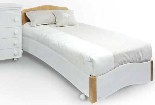 Кровать подростковая Fiorellino Pompy (white/nature)