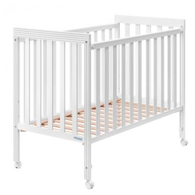 Купить Кроватка Micuna Basic1 (white), белый, массив бука / МДФ, Кроватки без укачивания