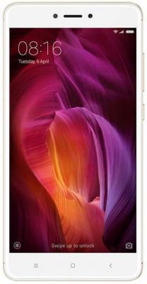 Смартфон Xiaomi Redmi Note 4 золотистый 5.5 64 Гб LTE Wi-Fi GPS 3G REDMINOTE4GD464GB смартфон xiaomi redmi note 4 черный 5 5 64 гб lte wi fi gps 3g redminote4bl64gb