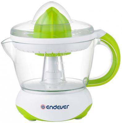 купить Соковыжималка ENDEVER Sigma-66 40 Вт пластик белый зелёный