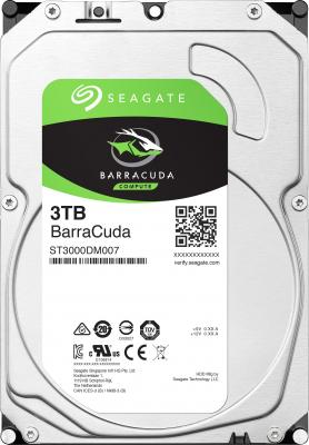 Жесткий диск 3.5 3Tb 5400rpm Seagate Barracuda SATAIII ST3000DM007