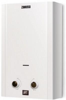 Водонагреватель газовый Zanussi GWH 6 Fonte LPG 11800 Вт 6 л водонагреватель газовый zanussi gwh 10 fonte